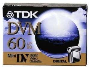 TDK 5 x DVM60 – (T17591)