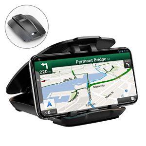 Cocoda Support Téléphone Voiture, Support Tableau de Bord Ouverture Facile Pliage Rangé Universel Porte Voiture pour Téléphone, GPS
