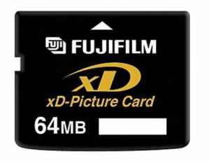 Fujifilm xD Picture Card 64 Mo carte mémoire