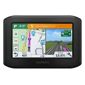 Garmin zumo 396 – GPS Moto – 4.3 pouces – Cartes Europe 46 pays – Cartes, Trafic, Zones de Danger à Vie – Appels Mains Libres – Contrôle de la musique