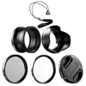 Kit accessoires objectif KIWIfotos LX5K 52 mm Panasonic