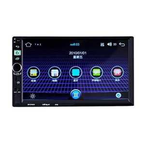 prettygood77en écran Tactile LCD Bluetooth Android5.1Car Lecteur MP5Radio WiFi GPS NAV