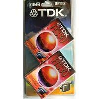2 X Cassette Vierge pour Caméscope VHS-C TDK HS 30 – VHS C