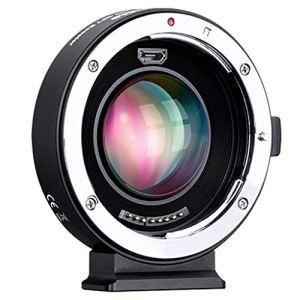 KESOTO EF-m2 Réducteur de focale Booster Adaptateur de Mise au Point Automatique 0,71 X pour Canon EF Mont Série d'objectifs au M43 Camera
