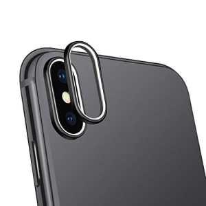 MENGZHEN 1pcs en Alliage d'aluminium Haute Dureté de la lentille de l'appareil Photo pour appareils de Protection arrière Bague Coque pour Iphone7/8/7P/8P/X