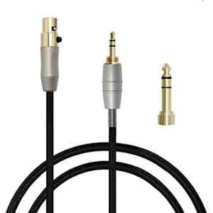 micity Câble de rechange remplacement Audio mise à jour via câble pour aKG q701K702K271s K271K141K171K181MK2MKII K240S K240Pioneer Hdj-2000Casque 3m