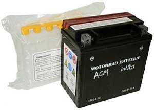 R batterie d'origine iNTACT yTX14–bS/51214 batterie