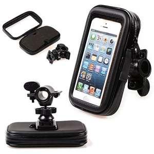 takestop Support moto étanche 6inches 360degrés rotation porte téléphone universel moto Smartphone MP3MP4GPS