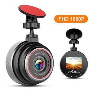 Caméra de Voiture, FLYLINKTECH Dash Caméra Voiture Embarquée Enregistreur de Conduite Full HD 1080P Écran 1.5 Pouces Mini Dashcam Voiture avec G-Capteur, Grand Angle 170°,WDR, Détection de Mouvement