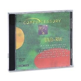 Compucessory 35561 Lot de 4 Supports DVD-RW