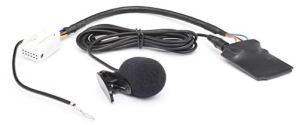 Kit mains libres Bluetooth Audio 12pin VW: RCD 200/210/300/310/500/510, RNS 300/310/510, MFD2–-– Skoda: Beat, Cruise, Dance, Stream, Nexus, Swing –-–-Audi: Chorus, concert 2+/3, RNS-E, BNS 5.0