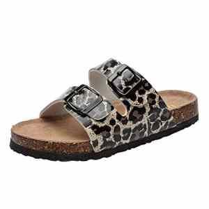 Saihui_Women's Shoes , Sandales Compensées Femme – Noir – Noir, 36 EU