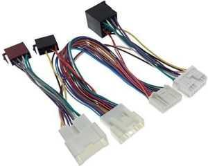 THB paRROT-adaptateur iSO pour dACIA duster câble logan sandero