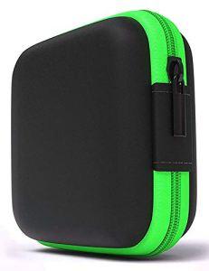 LUCKLYSTAR® Earphone Case, étui à Mini écouteurs, étui de Protection pour Casque, écouteurs, écouteurs Bluetooth, écouteurs sans Fil, clés, pièces de Monnaie et Autres Petits Rangements