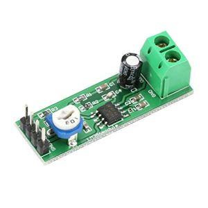 HoganeyVan Multimètre 2 LM386 Super Mini 200X Modules de Carte d'amplificateur de Puissance Mono Channel Electronic DIY Audio Amplify Volume Adjustable