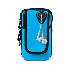 sunnymi Brassard Portable Double Poche de Sport Alpinisme pour téléphones de Moins de 6 Ans, E, 320 X 12 X