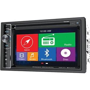 Power Acoustik Pdn-626b 2-DIN MobileLink X2unité Source avec GPS/Bluetooth/15,7cm LCD