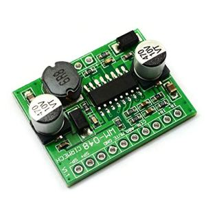 Cartes d'amplificateur de Puissance numériques Amplificateur de puces HT8692 Ajustable Boost d'entrée de Classe 5-6.5W AB / D Mono (2,5-5,5 V) (Couleur: Vert)