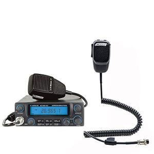 CBTalk Radio CB Kit Albrecht AE 5890 + Double Microphone Micro avec Bluetooth 6 Broches