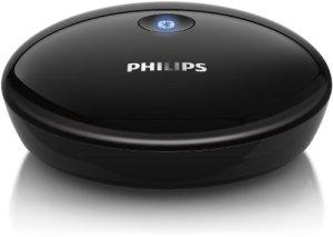 Philips AEA2000 Adaptateur Hi-Fi Bluetooth avec prise RCA et audio – Noir