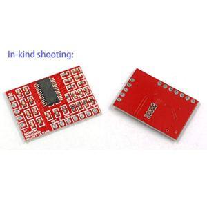 TPA3110 Chips Classe D Amplificateur Audio Numérique Carte Amplificateurs Mini Amplificateur Stéréo 2 Canaux Module Amplificateur 15W * 2 (Couleur: Rouge)