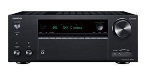 Onkyo TX-NR696(B) Récepteur AV 7.2 Canaux (THX Cinema Sound, Dolby/DTS : X, Wifi, Bluetooth, Streaming, Applications Musicales, Spotify, Deezer, Radio, Multiroom, 175 W/Canaux), Noir