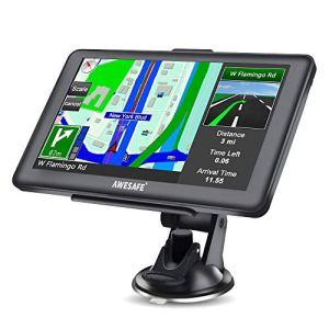 7 Pouce à Ecran Tactile Système de Navigation avec 48 Cartes