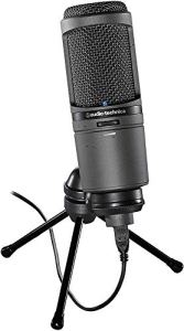 Audio-Technica AT2020USBI Microphone Cardioïde USB Noir