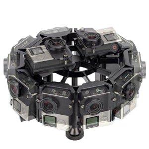 Caméra Aluminium Boîtier de Protection Case Cage de Protection en Aluminium avec boîtier en Alliage d'aluminium CNC 12 en 1 for GoPro HERO4 / 3 + (Noir) (Color : Black)
