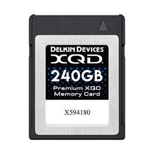 Delkin Premium XQD Carte mémoire 240 Go