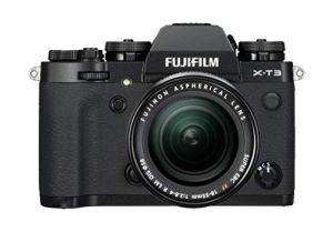 Fujifilm Appareil photo compact hybride X-T3 avec Objectif XF18-55 mm 26,1 Mpix Zoom optique Noir/Argent
