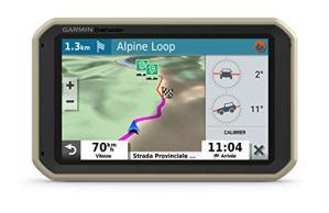 Garmin – Overlander- GPS tout-Terrain, Robuste et Polyvalent – 7 Pouces – Cartes Europe, Moyen-Orient et Afrique – Cartes TOPO Préchargées – Jauges de Tangage et de Roulis