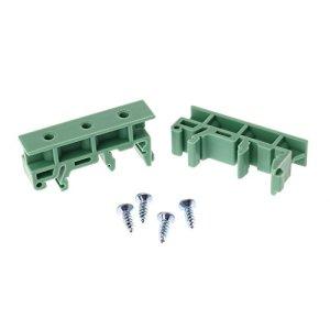 Gjyia PCB 35mm Adaptateur de Montage sur Rail DIN Support de Carte de Circuit imprimé Support Car Clips