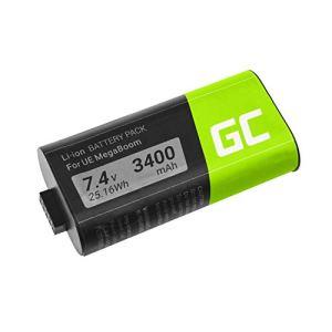 Green Cell® 533-000116 533-000138 Batterie pour Logitech Ultimate Ears UE MEGABOOM S-00147 (Li-ION Cells 3400mAh 7.4V)