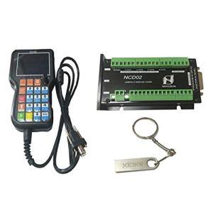 Homyl Carte de Contrôle Technique Commande NCHD02 en Métal et Plastique Accessoires Electronique Embarquée – 5 Axes