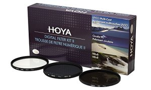 Hoya DFK58 Jeux de Filtres (UV, PLC, ND) Ø 58.0 mm
