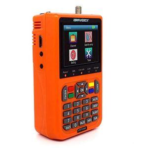 IBRAVEBOX V9 Finder numérique du Signal Satellite Compteur Finder (Couleur : Orange)