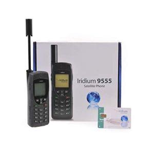Iridium 9555 Téléphone Satellite avec Carte SIM de 300 Minutes / Validité de 365 Jours
