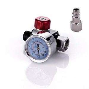 Jauge Pistolet Pistolet Pulvérisateur Pistolet pneumatique Régulateur d'air Mini Régulateur de Pression Air