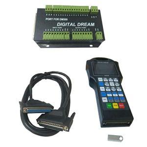 kesoto 1 Ensemble De Système De Commande CNC DSP – Contrôleur avec Carte D'interface DM500 – T4
