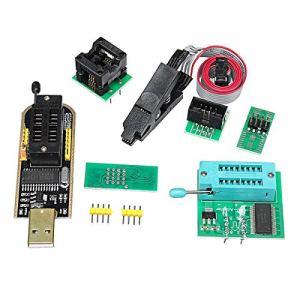 MYAMIA Eeprom Bios USB Programmer Ch341A + Soic8 Clip + 1.8 V Adaptateur + Soic8 Adaptateur pour 24 25 Série Flash