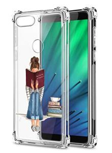 Oihxse Transparent Silicone Mignon Case Compatible pour Xiaomi Mi 10 Coque TPU Souple Ultra Mince Housse Clear Crystal Design Motif Anti-Scrach Protection Etui Bumper (A7)
