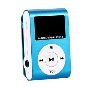 Pegcduu Courir Sport MP3 USB Lecteur MP3 Clip écran Support LCD Micro SD TF Design élégant Portable