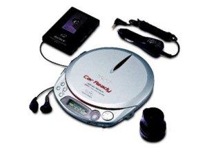 Sony D-NE518CK Baladeur CD de Voiture ATRAC/MP3 Argenté