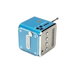 Td-v26 Mini Radio FM Numérique Haut-parleurs Récepteur Radio Support De Carte SD/TF Bleu
