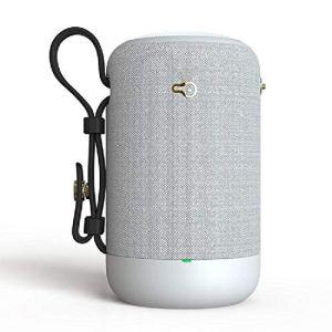 TSTYW Haut-parleurs Bluetooth, Voiture Ordinateur Portable sans Fil extérieur Carte créative Portable Mini Haut-Parleur, White