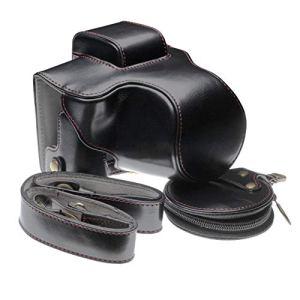 vhbw Étui Appareil Photo Compatible avec Canon EOS M50 Appareil Photo – Noir