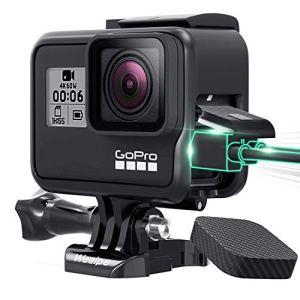 Wealpe Frame Cadre de Protection avec Capuchon pour GoPro Hero 7 Noir, 6, 5, Hero (2018) Caméras