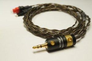 Whiplash Audio Twag V2Sennheiser câble de mise à niveau de remplacement pour HD650/HD600/HD25–1: 2