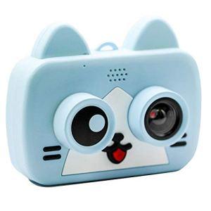YOUDALIS Appareils Photo numériques Enfants HD 1200W Fun 2 Pouces Caméra Cartoon WiFi Sync téléphone Portable for Enfants Jouets éducatifs 1080P Projection vidéo Came (Color : D)